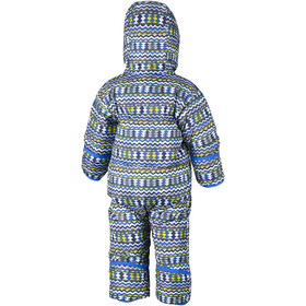 Columbia Snuggly Bunny Bunting Suit Kids cool grey zigzag/super blue
